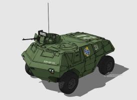 M62 4輪装甲機動車