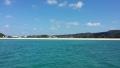 海から見たオクマビーチ(1)