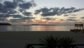 オクマビーチの夕日(1)