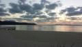 オクマビーチの夕日(2)