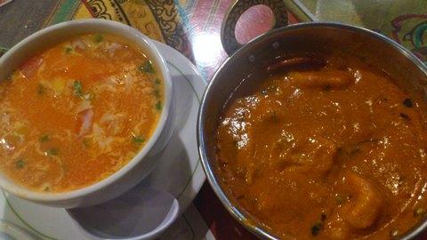 トマトスープポークビンダルー