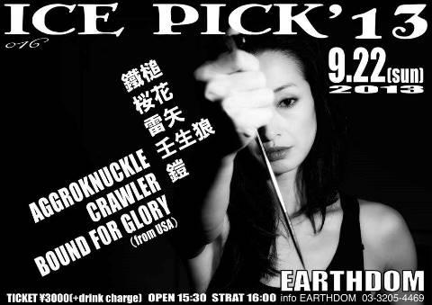 ice pick 2013