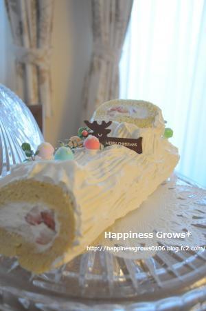 恥ずかしい!超季節外れのクリスマスケーキ。