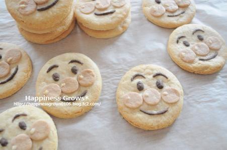 子供たち大喜び♪アンパンマンクッキー☆