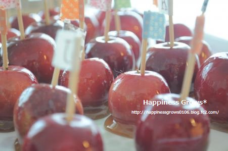 いつかの(笑)リンゴ狩り&リンゴ飴
