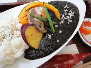 黒焼きカレー
