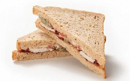 今度ははサンドイッチ~