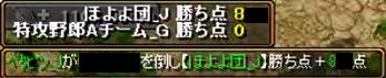 対 特攻野郎Aチーム_G 1-2