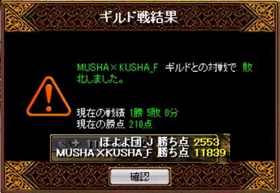 対 MUSHA×KUSHA_F 14/2/4