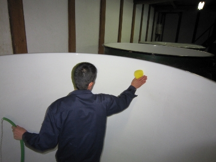 タンク掃除4