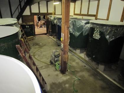 タンク掃除7