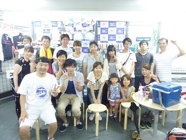 2013年8月4日 テニスアメニティ園田①