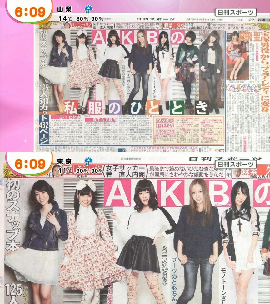 AKB48 私服 渡辺麻友