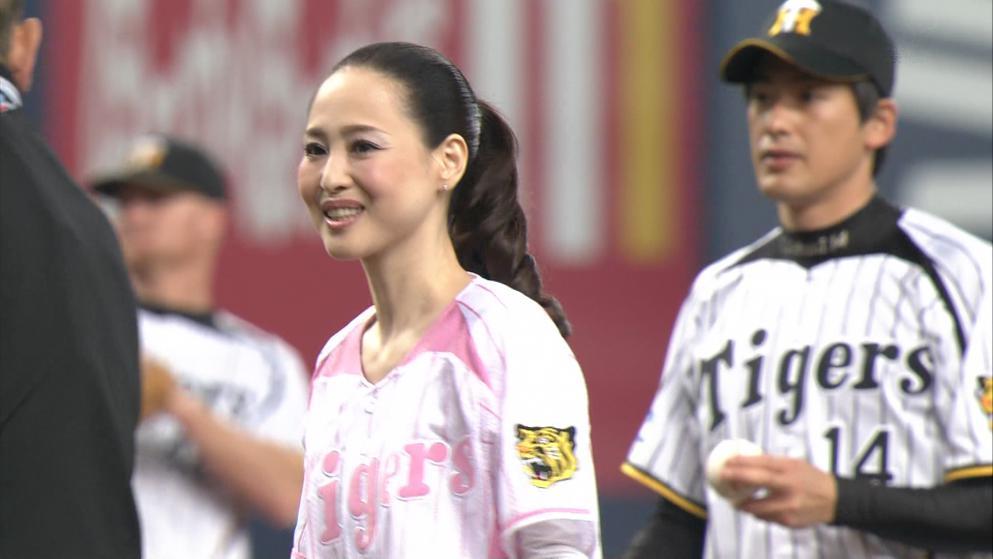 松田聖子 始球式