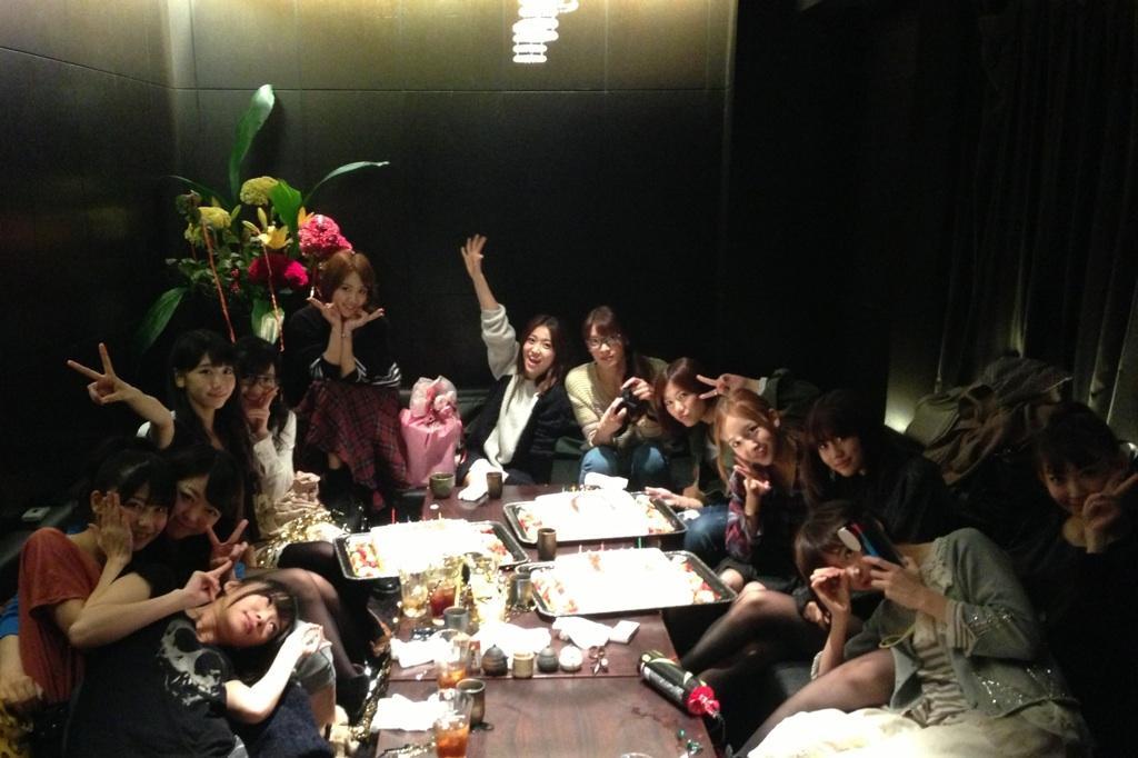 大島優子 板野友美 誕生日