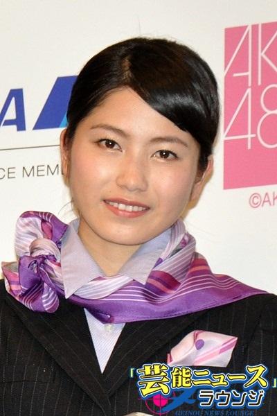 横山由衣 AKB48 ANA