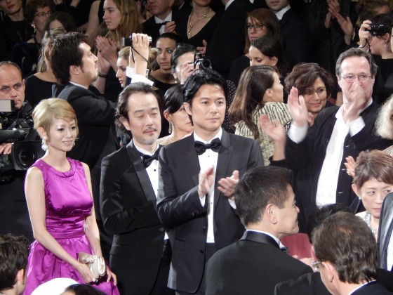 真木よう子リリー・フランキー 福山雅治 第66回カンヌ国際映画祭
