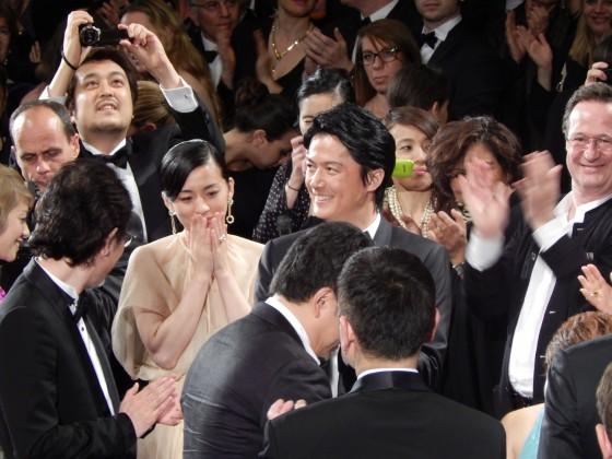 尾野真千子 福山雅治 第66回カンヌ国際映画祭