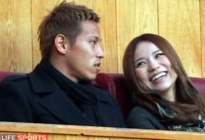 本田圭佑 妻 嫁