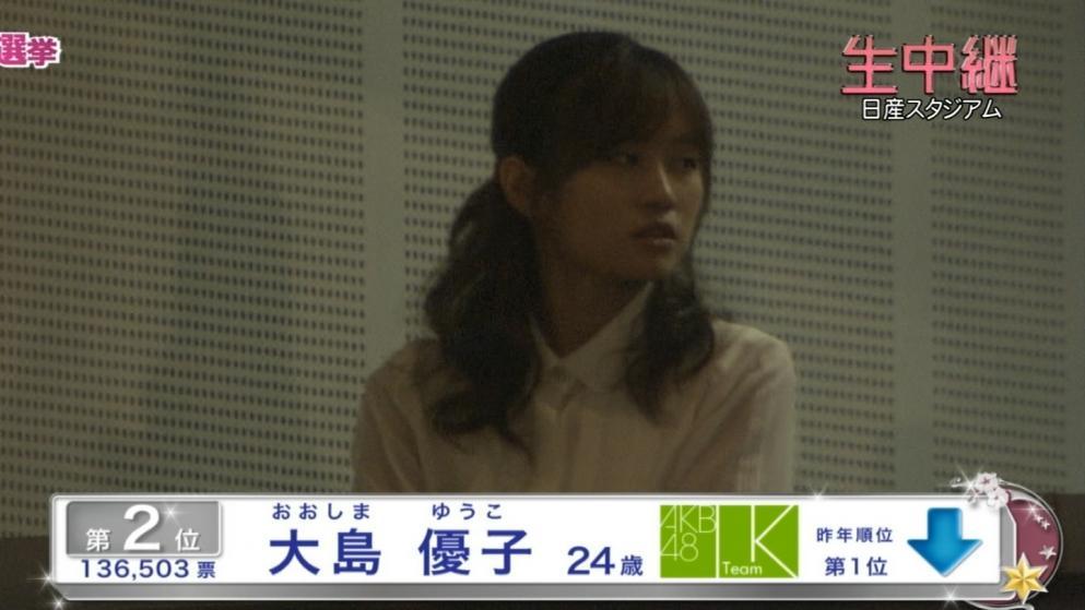 前田敦子 指原莉乃1位 AKB選抜総選挙