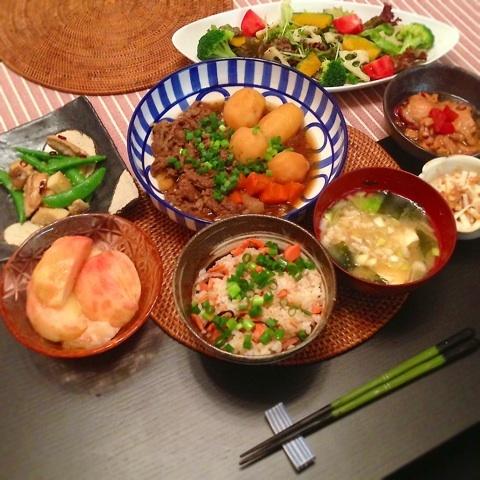 里田まい ご飯