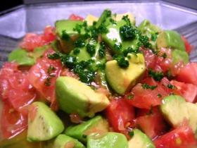 メチャ美味しいアボカドのサラダ