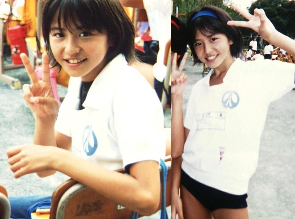 長澤まさみ 12歳 運動会