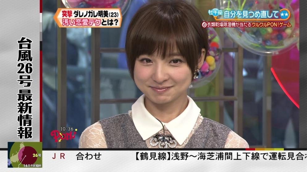 篠田麻里子 PON!