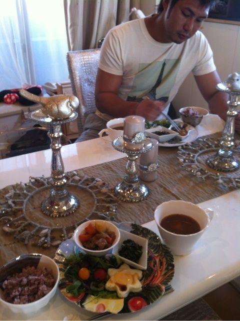 栗原家の食卓