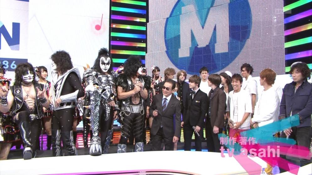 KISS タモリ Mステ ミュージックステーション