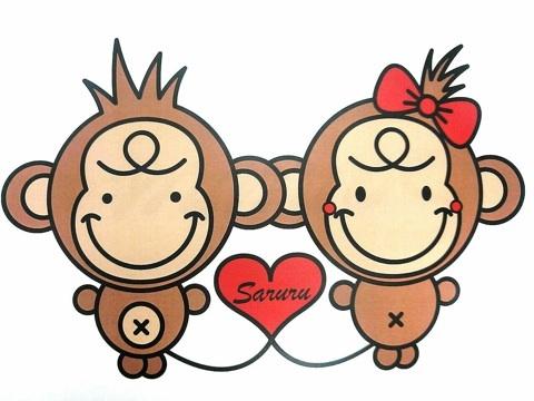 辻希美の子供服ブランド SARURU 猿のキャラクター