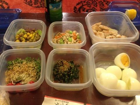 市川海老蔵のお弁当 昼ご飯