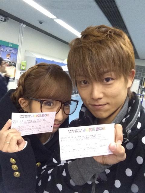 関ジャニ∞のライブに行った辻希美と杉浦太陽