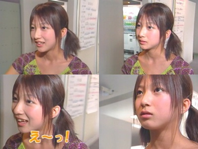 整形前の辻希美 モーニング娘。