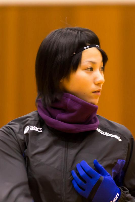 女子バレーの吉村志穂