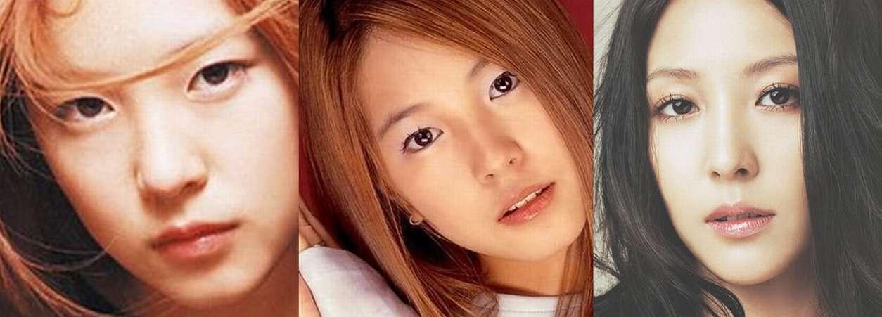 BoAの顔の変遷 整形