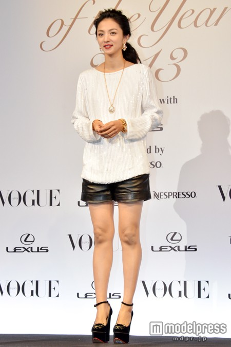 VOGUE JAPAN Women of the Year 2013 満島ひかり