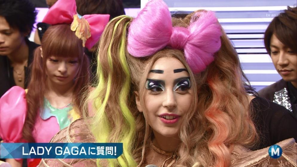 レディ・ガガ きゃりーぱみゅぱみゅ ミュージックステーション Mステ