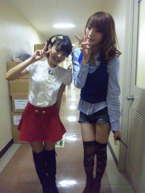 平野綾と佐藤かよ