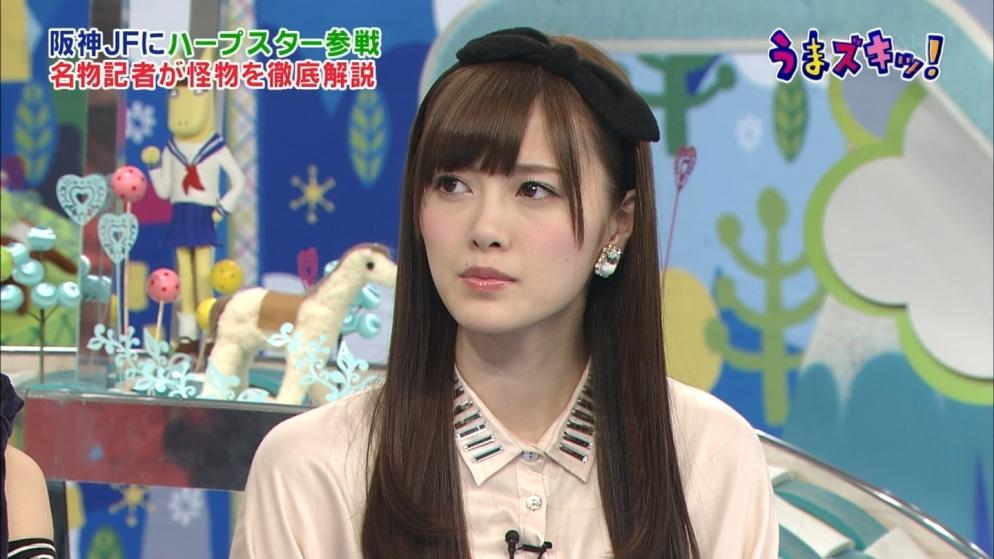 小嶋陽菜 乃木坂46の白石麻衣 公開処刑 うまズキッ!