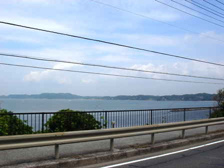 富津海見える