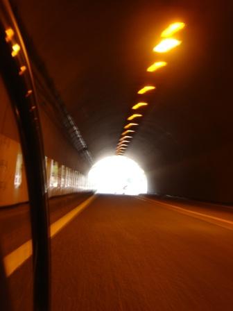 横須賀トンネル内