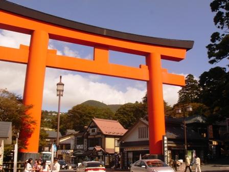 20131014箱根鳥居
