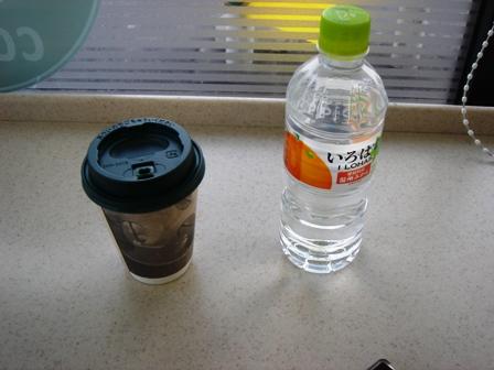 20140125コーヒー・水