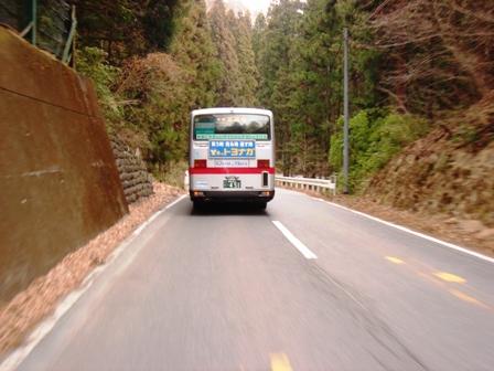 20140128路線バスの後ろ