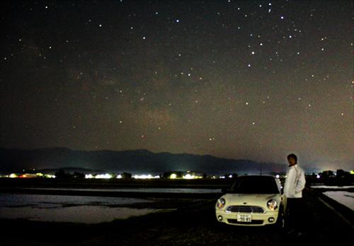 銀河と水田2013 044