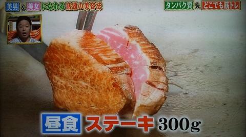 20130815用・昼食ステーキ