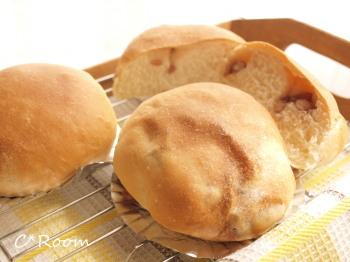 うずら豆まるパン