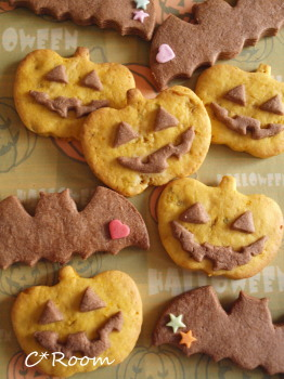 ハロウィン-クッキー1