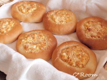 鮭卵パン1